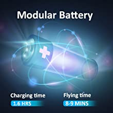 long battery life with rechargeble battery