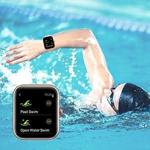 5ATM Swimming Waterproof Smartwatch
