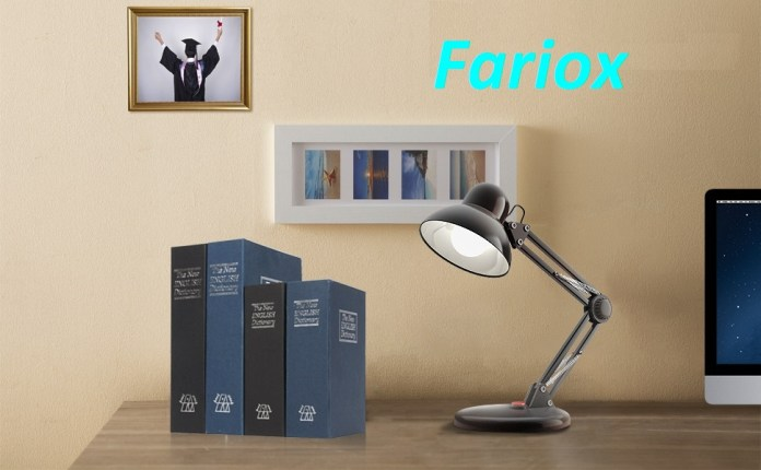 FARIOX SMALL BOOK SAFE