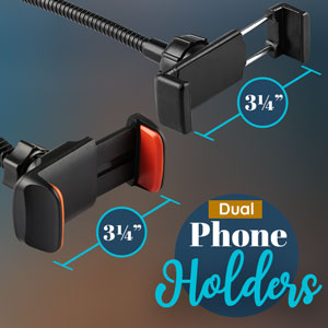 dual phone holder 3.25 inches
