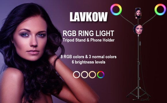 RGB Selfie Ring Light