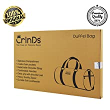 Crinds duffel bags box packing