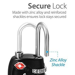 tsa number lock lock