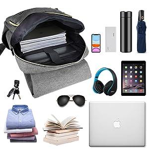 Laptop backpack detail