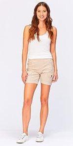 Clarissa Shorts in Sand