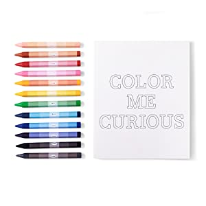 crayons coloring colors colorful book notebook craft kit art materials