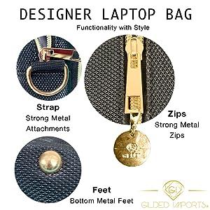 Gilded Imports Laptop Bag