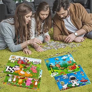 puzzles for kids ages 3-5 Preschool Educational Learning Toys 60 Piece Puzzles