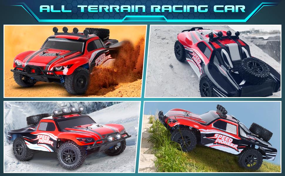 All Terrain racing car