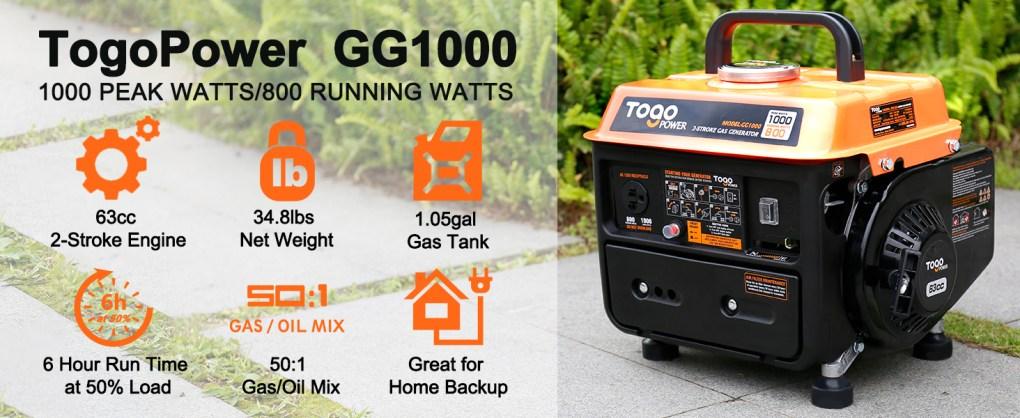 generator,camping generator,portable generator,small generator,gas generator,1000 watt generator