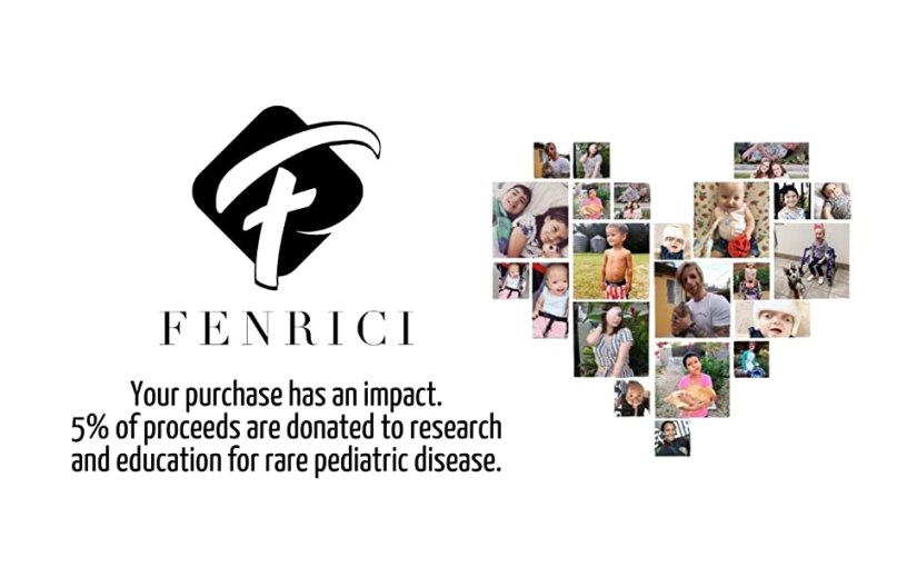 Your purchase has an impact. We donate 5% of our proceeds for children with rare pediatric disease.