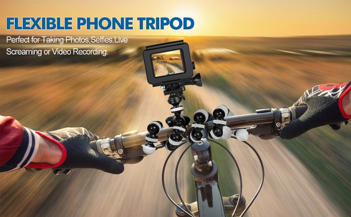 swapkart gorilla tripod flexible for camera phone dslr action camera go pro