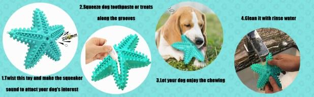interactive dog chew toy