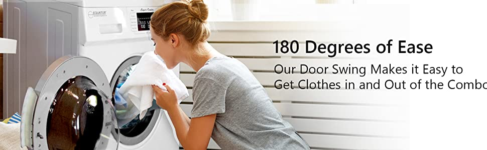 180 degrees door opening