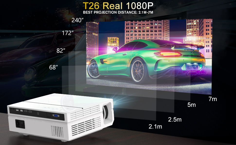 real 1080P projector