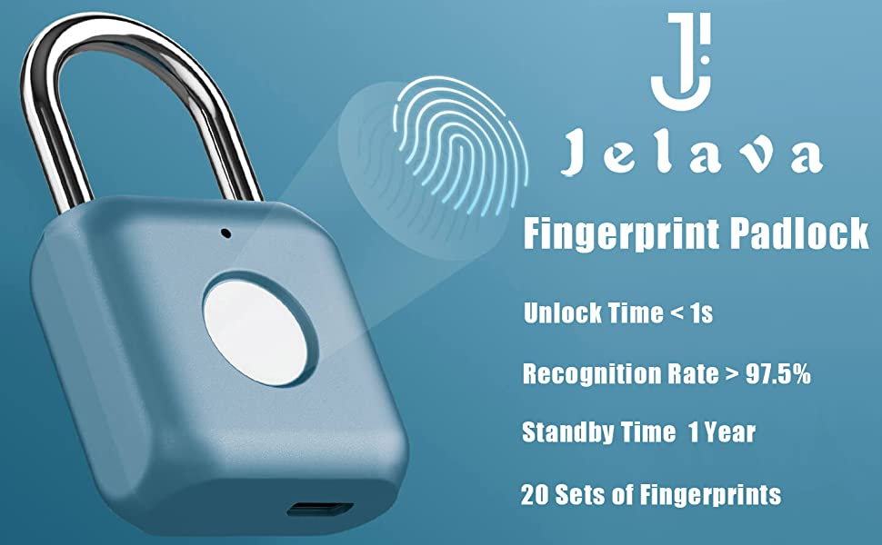 Fingerprint Padlock a1