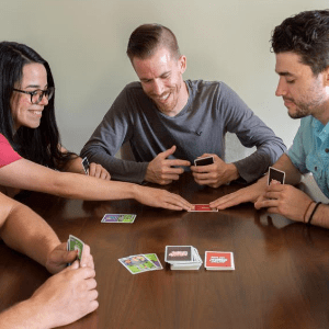 Friends Playing Don't Get Stabbed
