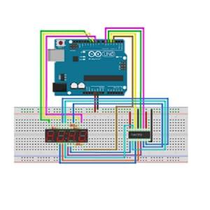 Seven segment with arduino