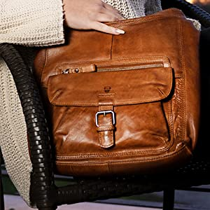 DONBOLSO Damen Handtasche Umhängetasche Paris