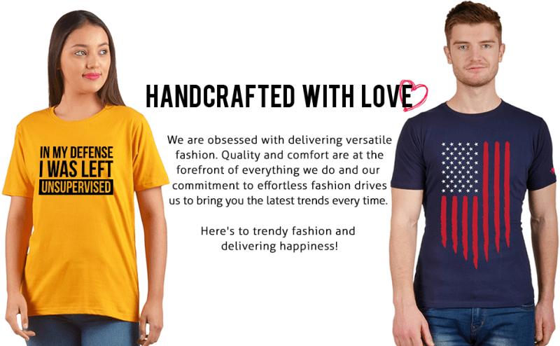 Graphic Printed Half Sleeve Round Neck Cotton Unisex Quotes Fashion Funny Slogan Casual Stylish