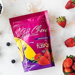 Vitamina Bariatric Fusion Mixed Berry para cirurgia para perda de peso