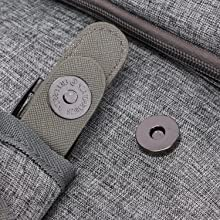 Sturdy Belt and Exquisite Buttons