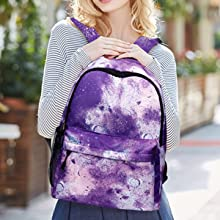 galaxy backpack with lock