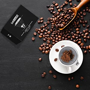 basic coffeefilter dripping funnel metal pourover single-cup personal slow strainers pourovercoffee