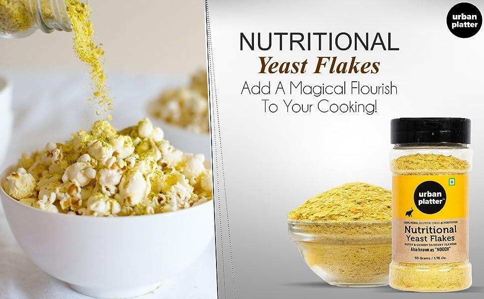 Urban Platter Nutritional Yeast Flakes, 1Kg