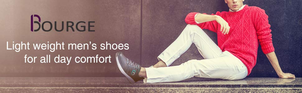 Bourge Light weight men's running shoes