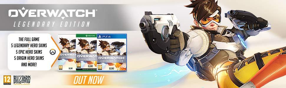 Overwatch Legendary Edition, Overwatch PS4, Overwatch Xbox One, Overwatch PC, Overwatch