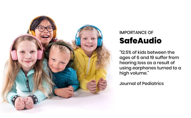 Kids Bluetooth Headsets, Pink Headsets, PopTime, BuddyPhones