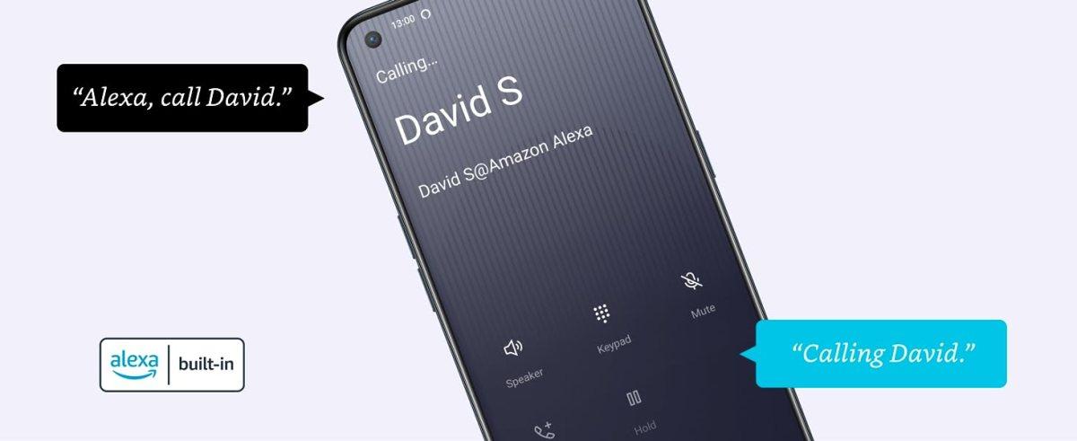 """Make hands-free calls, just ask Alexa - """"Alexa, call David"""""""