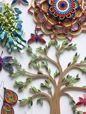 Art of modern quilting, tree, crafts