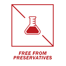 free from preservative