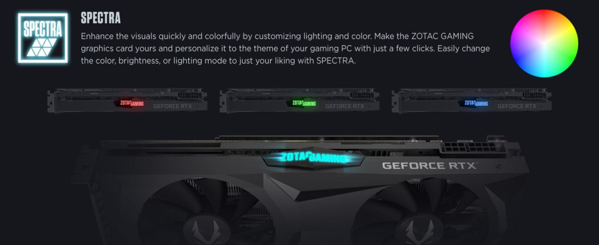 ZOTAC GAMING GeForce RTX 2060 SUPER AMP 8GB GDDR6 256-bit 14Gbps Gaming Graphics Card, IceStorm 2.0