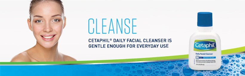 Cleanse with Cetaphil Daily Face Wash, Gentle Enough for Everyday