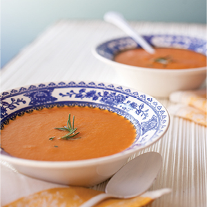 Caramelized Carrot and Ginger Soup