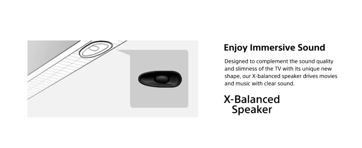 20W X-Balanced  Speakers