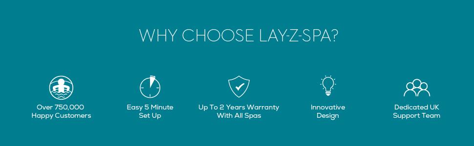 Why Choose Lay-Z-Spa?