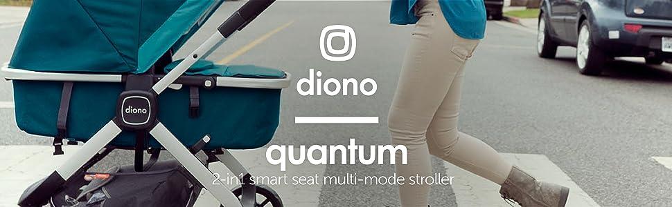 Diono Quantum 3-em-1 carrinho Multi-Mode