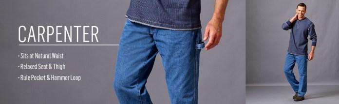 Wrangler Authentics Classic Carpenter Jean