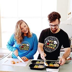 Alpha, DK, Books, Healthy Meal Prep, Adam Bannon, Stephanie Tornatore, Fit Couple Cooks, YouTube