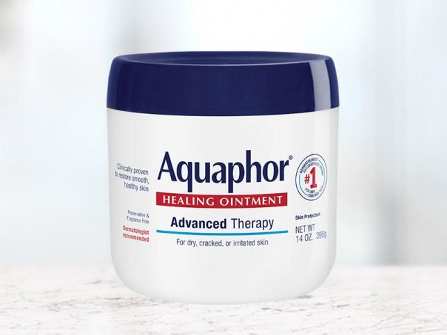 aquaphor healing ointment, 14 oz, multipurpose, dry skin, chapped lips