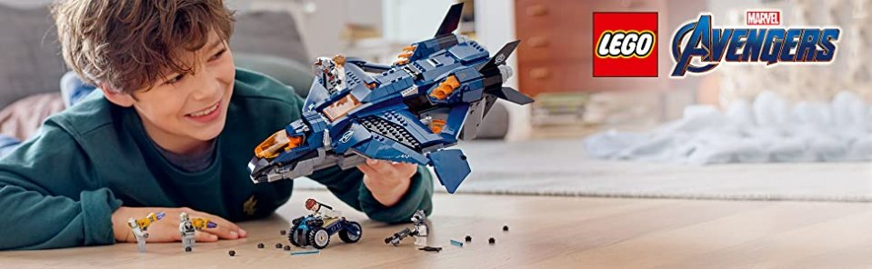 LEGO 76126 Marvel Avengers Ultimate Quinjet Plane, Super Heroes Playset Review
