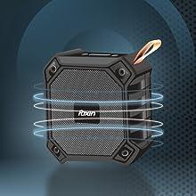 Foxin FSBT-102 Bond Portable Bluetooth Speaker (Black)