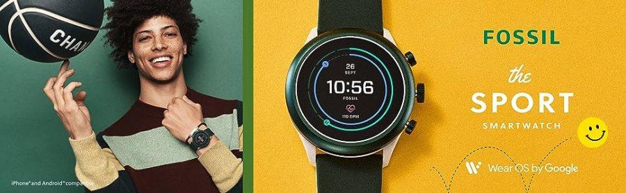Fossil smartwatch, smart watch, smartwatch, touchscreen, apple watch, Fossil, mens watch, tech watch