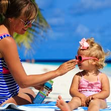 Make it a habit to apply kids face and body sunscreen to your child every day
