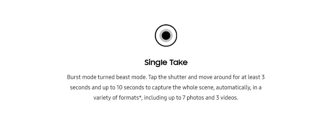 Single take
