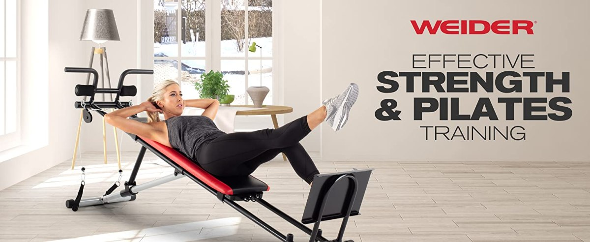 Weider Ultimate Body Works Workout Bench